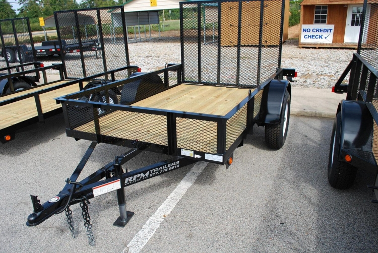 Utility trailers for sale cargo trailers for sale at rpm for Wood floor utility trailer