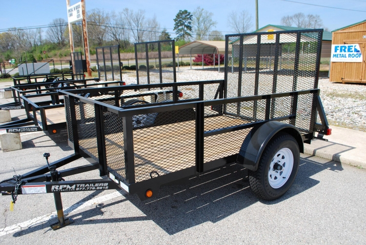 Utility Trailer 4054on Aluminum Open Car Hauler Trailer