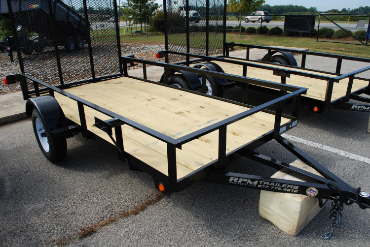 5 x 10 utility trailers rpm trailer sales for 6x12 wood floor trailer