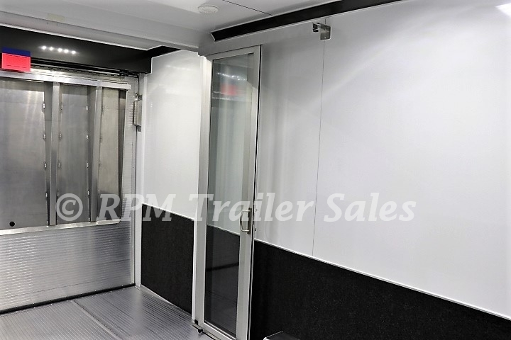 44 Intech Aluminum Race Trailer With Bathroom Package