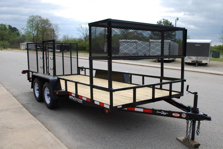 Enclosed landscape trailer setup ideas car interior design for Garden design trailer