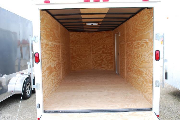 7 X 16 V Nose Enclosed Cargo Trailer Rpm Trailer Sales