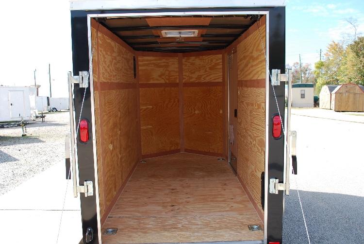 5 X 10 Enclosed Cargo Trailers Custom Built Cargo
