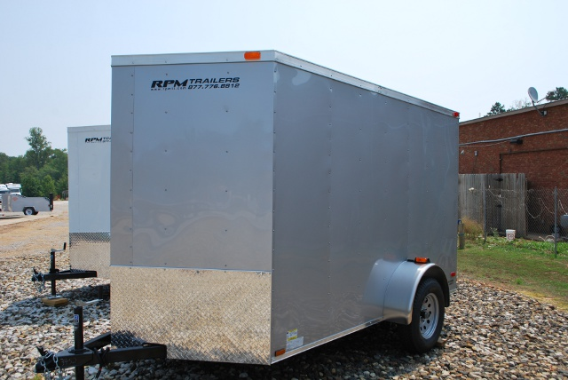New 6 X 10 Enclosed Cargo Trailer For Sale Enclosed
