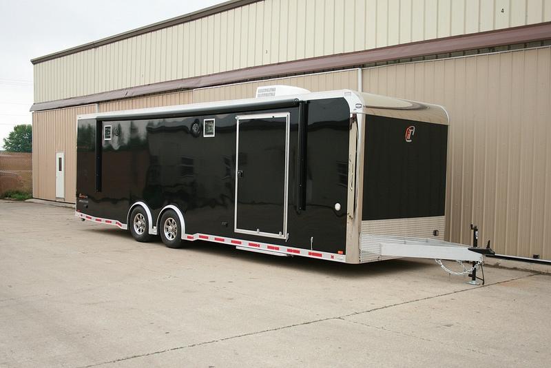 Intech trailers for sale custom aluminum race trailers for Motor trailers for sale