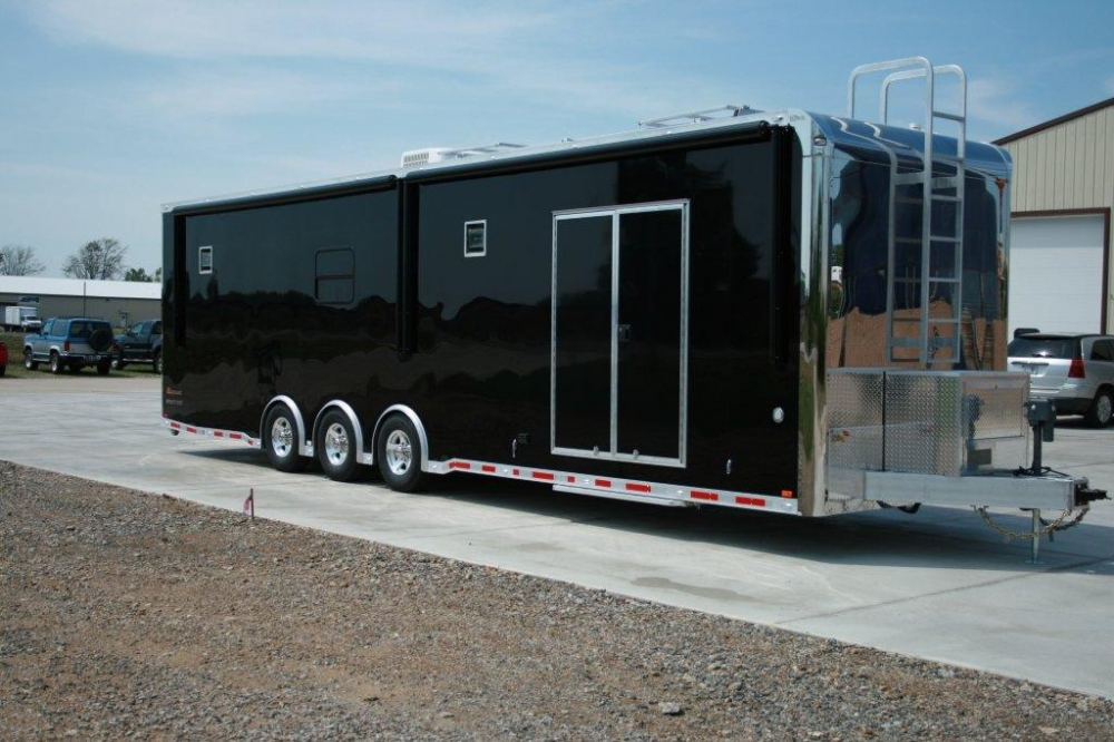 34 Jr Dragster Trailer With Bathroom Custom Intech