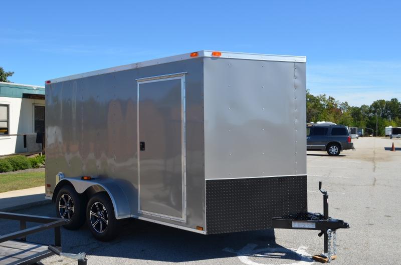 Custom Enclosed Trailers 7 x 12 enclosed cargo trailer