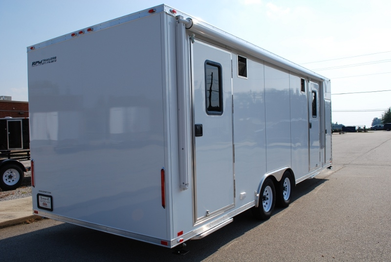 mobile classroom trailer mobile office trailers custom trailers for sale rpm trailer sales. Black Bedroom Furniture Sets. Home Design Ideas