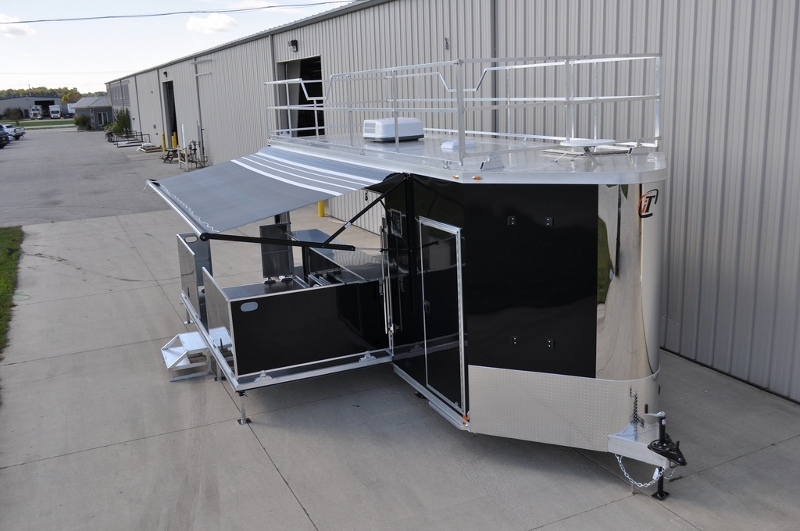 Aluminum Enclosed Trailers For Sale >> Mobile Stage - Mobile Staging | Custom Mobile Stage Trailers | RPM Trailer Sales