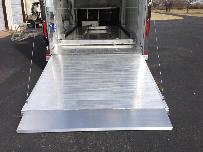Aluminum Intech Stacker Trailer Custom Stacker Trailers