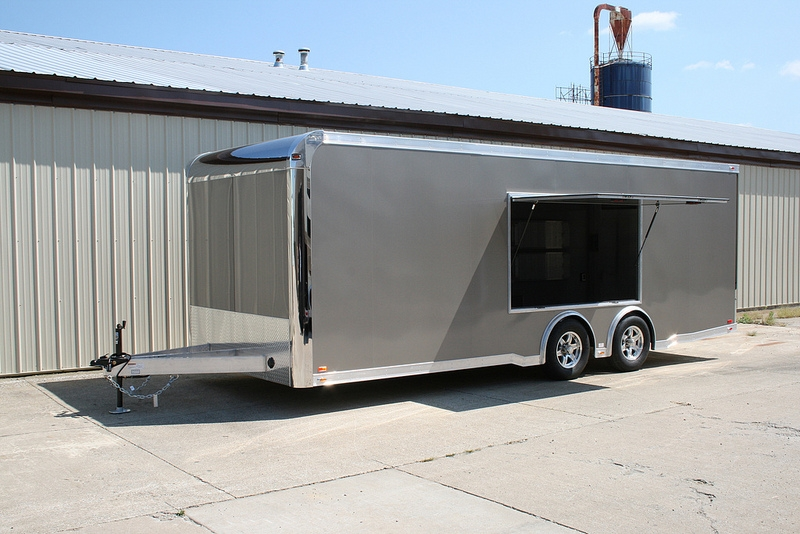 Car Enclosed Trailer For Sale