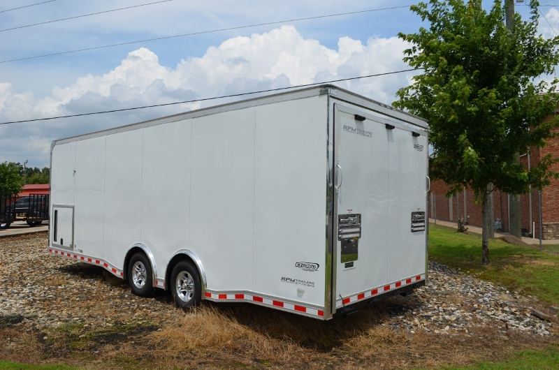 Bravo icon race car trailers car trailer for sale from for Motor trailers for sale