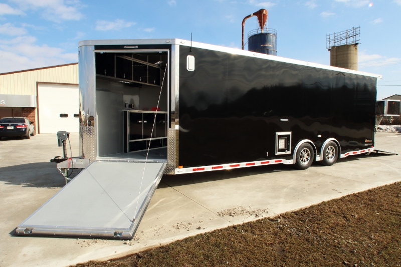 Aluminum Enclosed Trailers For Sale >> 30' Custom Snowmobile Trailer | Snowmobile Trailers for Sale | All Sports Trailers Available ...