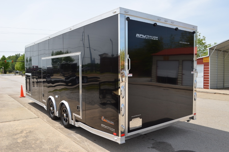 24 Custom Aluminum Car Hauler With Escape Door Custom