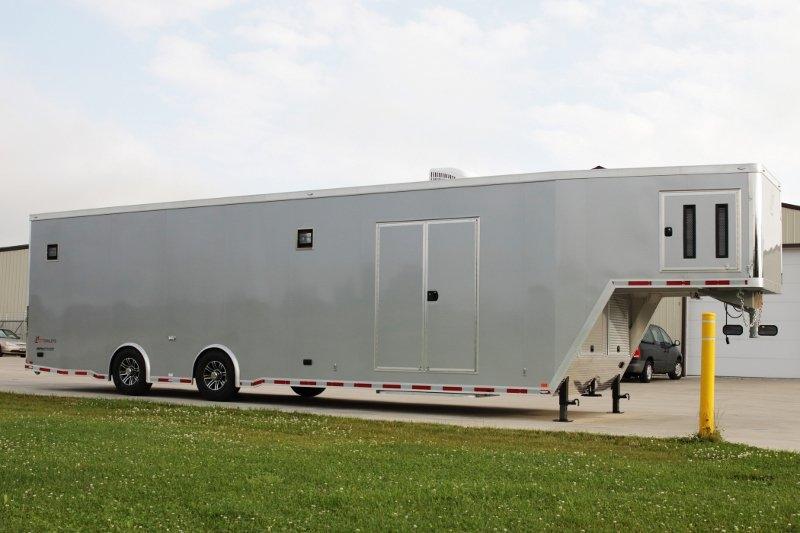 Gooseneck Trailers For Sale Aluminum Gooseneck Race Car Trailers