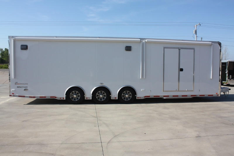 32 Aluminum Race Car Trailers Race Car Haulers For Sale Rpm