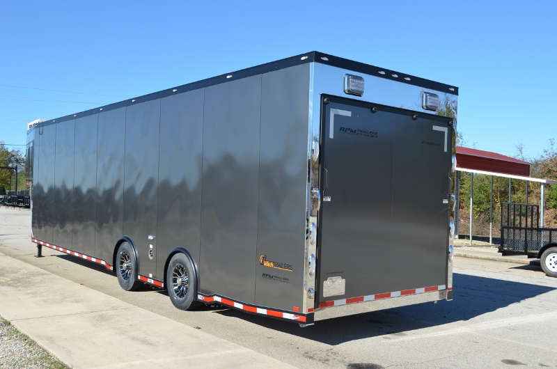 40 Custom Aluminum Gooseneck Race Car Trailers Aluminum