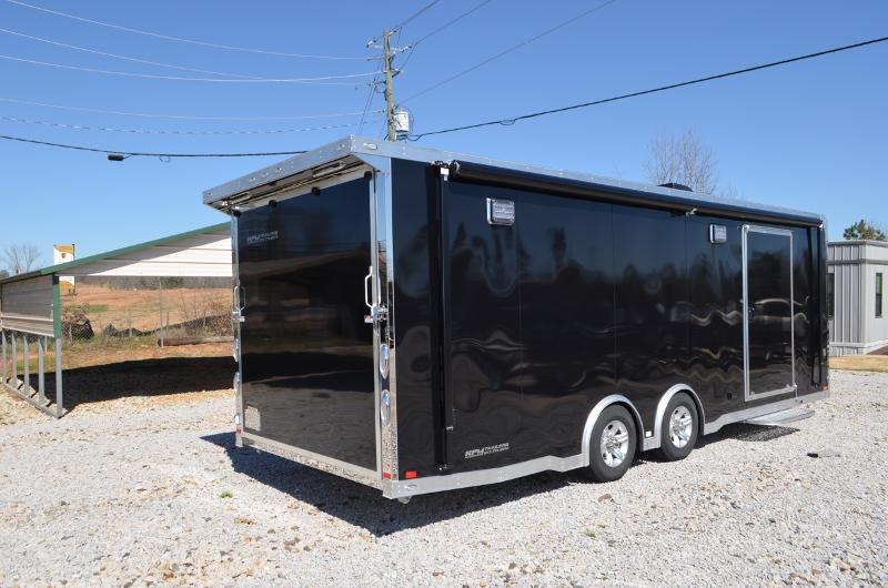 Custom aluminum intech trailers 24 loaded intech aluminum trailer request more info aloadofball Images