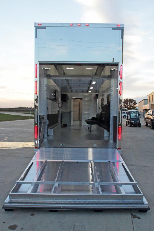26 Custom Stacker Trailer W Bathroom Package Aluminum