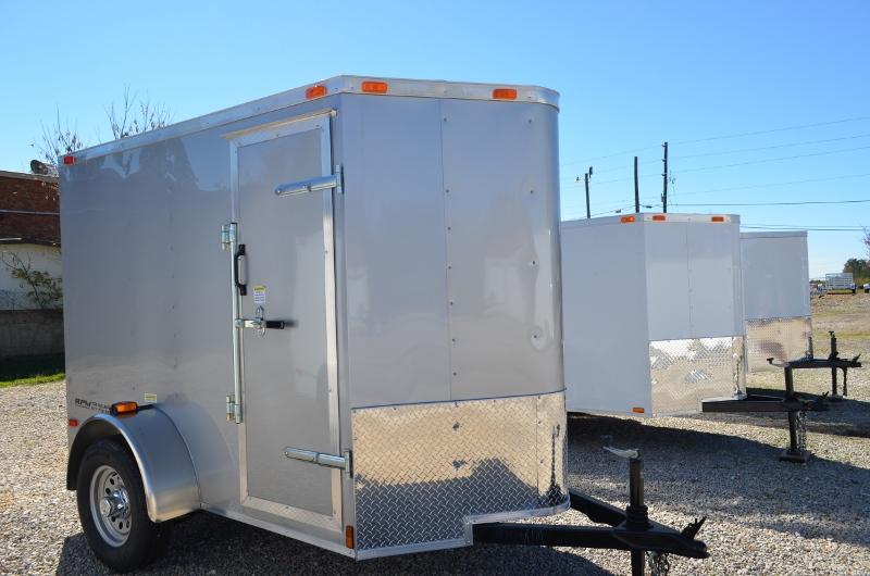 5 x 8 Enclosed Cargo Trailer