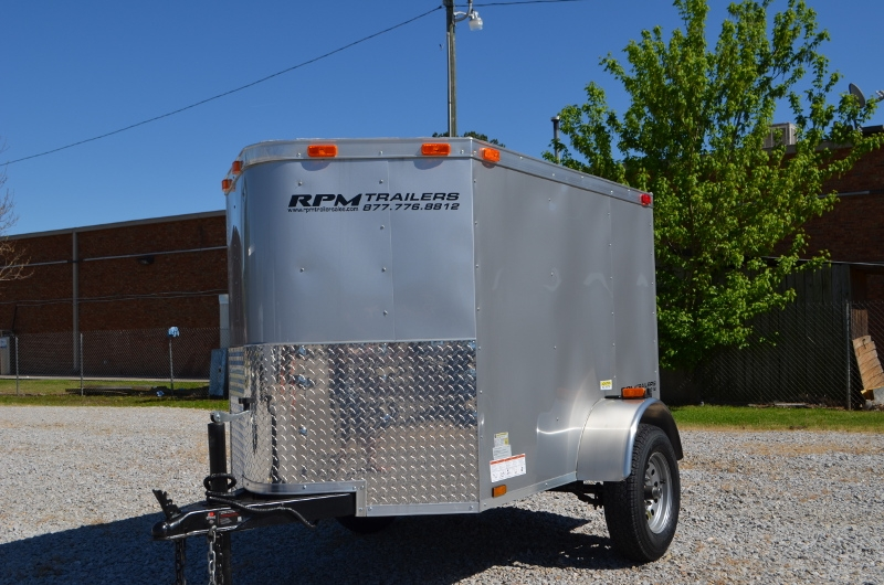 4x6 Enclosed Trailer >> 4 X 6 Enclosed Cargo Trailer Cargo Trailers For Sale Rpm