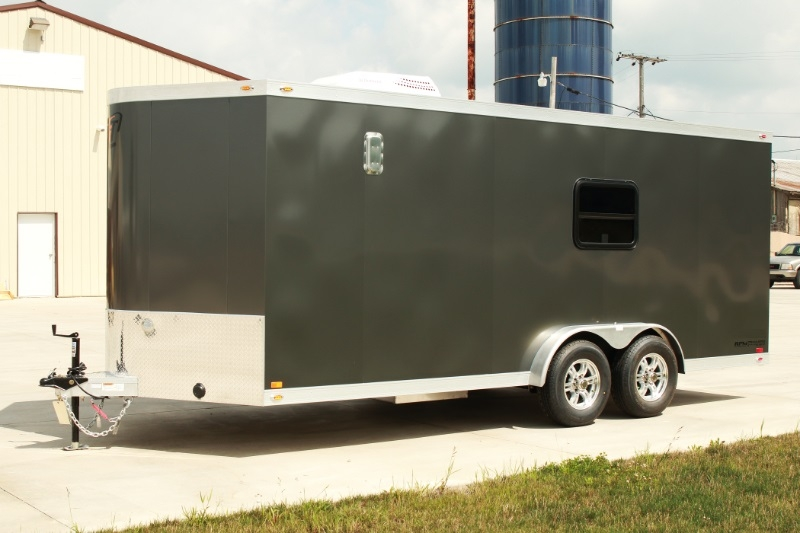 New 20 Custom Aluminum Motorcycle Trailer Motocross Race Trailers