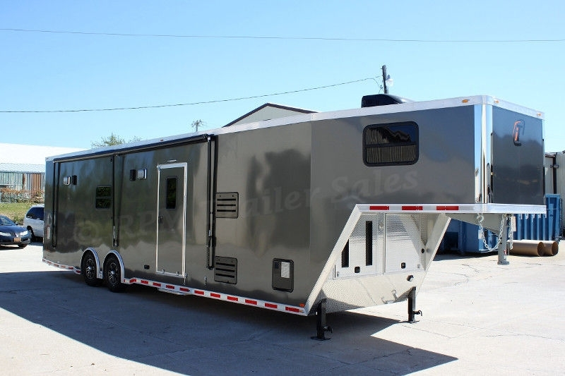 Used Enclosed Car Hauler With Living Quarters For Sale